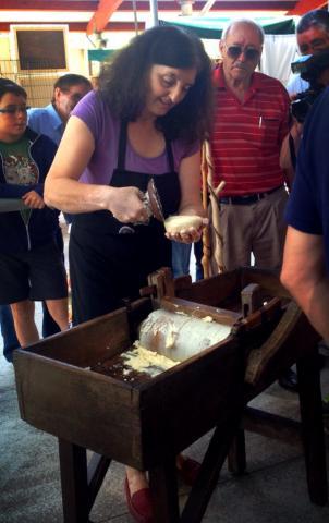 Taller de elaboración de Queso Casín